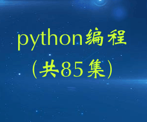 python编程(共85集)