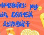 国外网赚项目:PAYPAL 拉新,10 分钟 5 美刀,赶快通宵干【视频课程】
